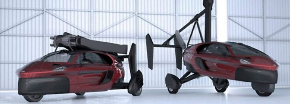 Ιπτάμενα αυτοκίνητα έτοιμα προς πώληση