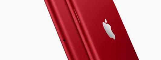 Η Apple κυκλοφόρησε το iPhone 7 σε κόκκινο χρώμα