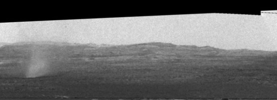 Οι ανεμοστρόβιλοι στον Άρη που κατέγραψε το Curiosity