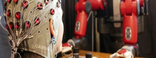Διορθώνοντας τα λάθη των ρομπότ με τη σκέψη
