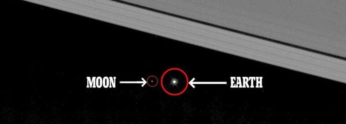 Εκπληκτικές εικόνες: Έτσι φαίνεται η Γη και η Σελήνη από τον Κρόνο!