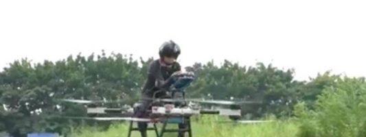 Αυτοδίδακτος μηχανικός κατασκεύασε μοτοσυκλέτα-drone
