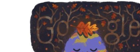 Το doodle της Google μάς εύχεται καλό φθινόπωρο – Ξεκινά και τυπικά σήμερα