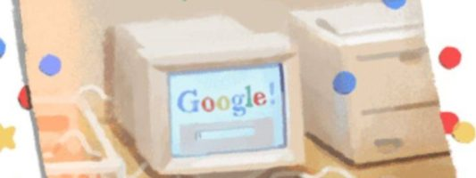 Η Google γιορτάζει τα 21 χρόνια της με ένα ιδιαίτερο doodle