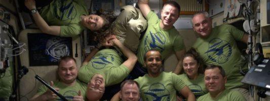 Διεθνής Διαστημικός Σταθμός: Πολυκοσμία με… 9 αστροναύτες από 4 διαστημικές υπηρεσίες!