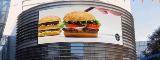 """Εκπληκτική διαφημιστική """"τρολιά"""" από την Burger King (VIDEO)"""
