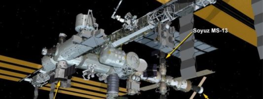 Συνωστισμός στον Διεθνή Διαστημικό Σταθμό: Πέντε σκάφη «παρκαρισμένα» στο εξωτερικό του