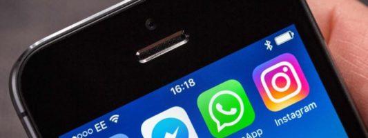Facebook, Messenger, WhatsApp και Instagram «κέρδισαν» τους χρήστες του διαδικτύου