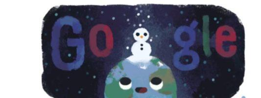 Χειμώνας: Το doodle της Google για το χειμερινό ηλιοστάσιο