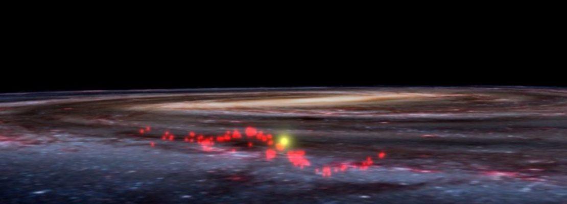 Ανακαλύφθηκε στο γαλαξία μας ένα μυστηριώδες τεράστιο κύμα από «εκκολαπτήρια» άστρων
