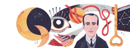 Google Doodle: Αφιερωμένο στον Vicente Huidobro