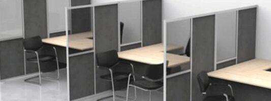 Επιστρέφει το γραφείο-κουβούκλιο λόγω κορωνοϊού