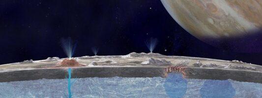 NASA: Ο μεγάλος υπόγειος ωκεανός στον δορυφόρο Ευρώπη του Δία θα μπορούσε να φιλοξενεί ζωή!