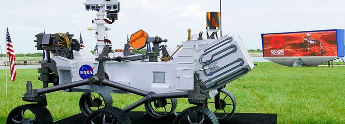 Εκτοξεύτηκε το ερευνητικό ρομπότ της NASA σε αποστολή για αναζήτηση αρχαίας ζωής στον Άρη