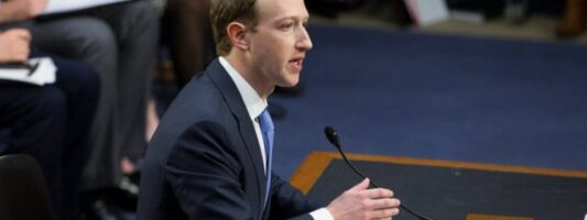 Καταθέτουν στο Κογκρέσο οι CEO των Facebook, Apple, Google και Amazon