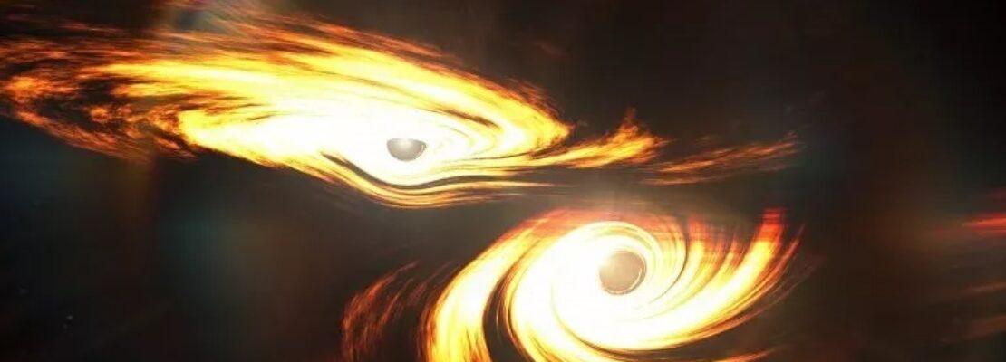 """Αυτός είναι ο ήχος που παράγεται όταν μια μαύρη τρύπα """"καταπίνει"""" μια άλλη…"""