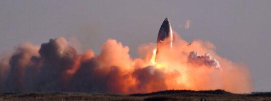 Έκρηξη σημειώθηκε σε προσγείωση πρωτότυπου πυραύλου της SpaceX