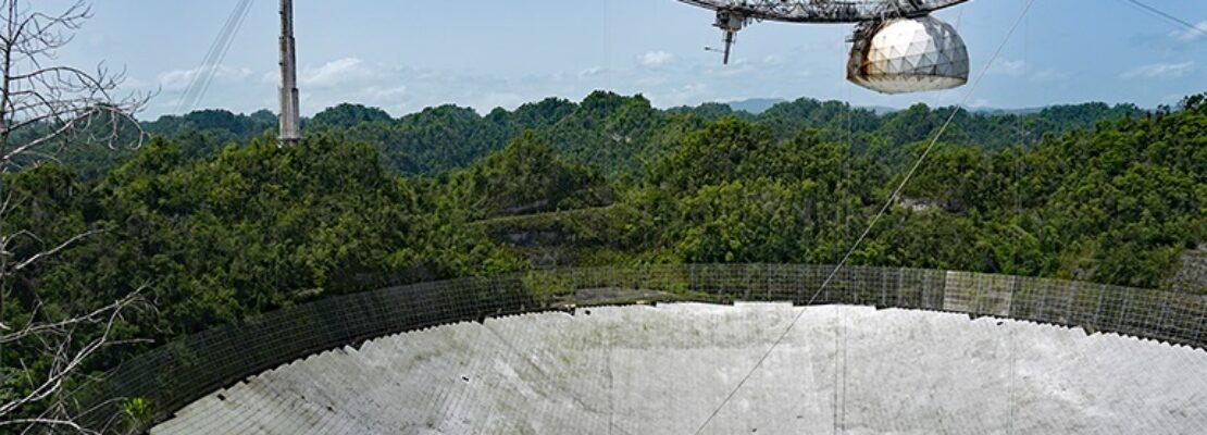 Το Πουέρτο Ρίκο θα διαθέσει 8 εκατομμύρια δολάρια για την ανακατασκευή του τηλεσκοπίου του Αρεσίμπο