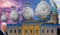 Προσεγγίζουν τη Γη 4 αστεροειδείς τη μέρα που ο Τραμπ παραδίδει στον Μπάιντεν
