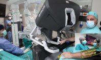 """Στα άδυτα του χειρουργείου με το ρομπότ """"Da Vinci"""""""