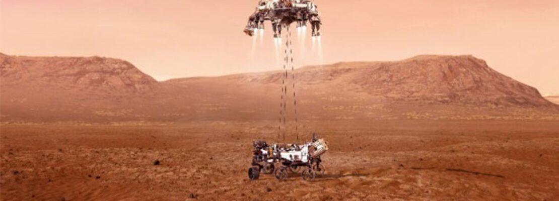 Ριπές ανέμου, ο πρώτος ήχος που «συνέλαβαν» τα μικρόφωνα του Perseverance στον Άρη