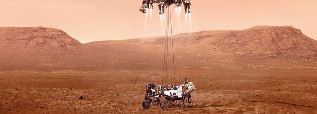 Μοναδικές εικόνες από το Perseverance – Το πρώτο ηχητικό από τον Άρη