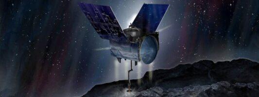 Το σκάφος OSIRIS-REX της NASA ολοκλήρωσε τις «βόλτες» γύρω από τον αστεροειδή Μπενού