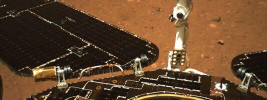 Το κινεζικό ρόβερ κινήθηκε για πρώτη φορά πάνω στην επιφάνεια του πλανήτη Άρη