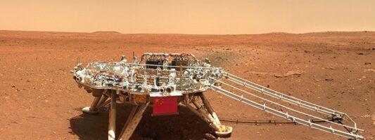 Η Κίνα αφήνει το αποτύπωμά της στον Άρη