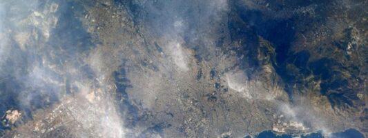 Η Αθήνα από το διάστημα – Η φωτογραφία αστροναύτη της NASA