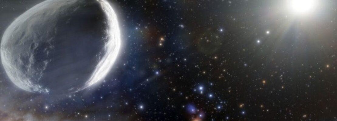 Ανακαλύφθηκε ο μεγαλύτερος κομήτης που έχει βρεθεί στη σύγχρονη εποχή