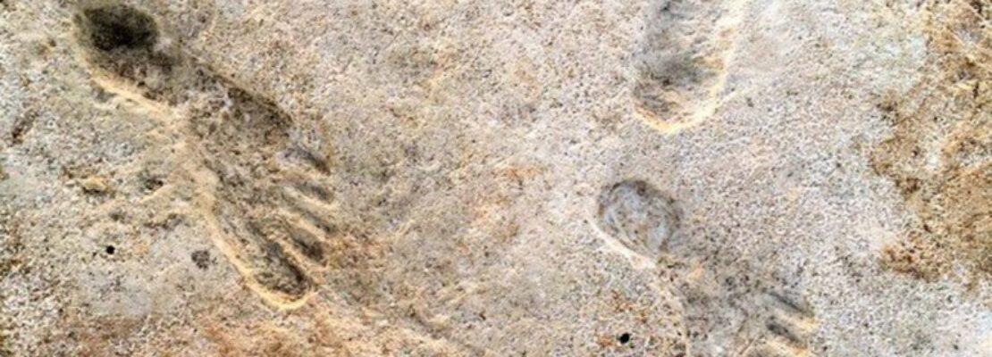 Βρέθηκαν οι αρχαιότερες πατημασιές ανθρώπων ηλικίας 23.000 ετών